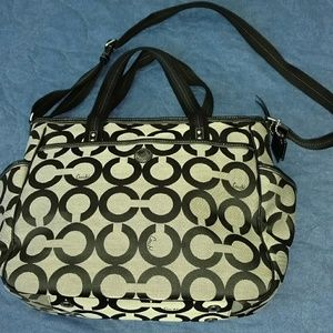 Coach diaper bag 16981
